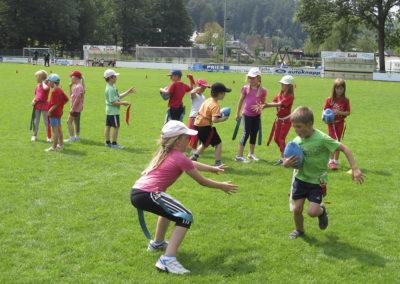 Sport-Feriencamp: Im Sommer werden die Außenanlagen wie Sepp-Herberger-Stadion, TSG-Waldschwimmbad oder Waldstadion genutzt.