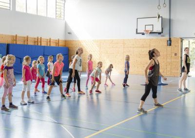 Tanz-Feriencamp: Am Ende der Feriencampwoche findet eine Aufführung für die Eltern statt.