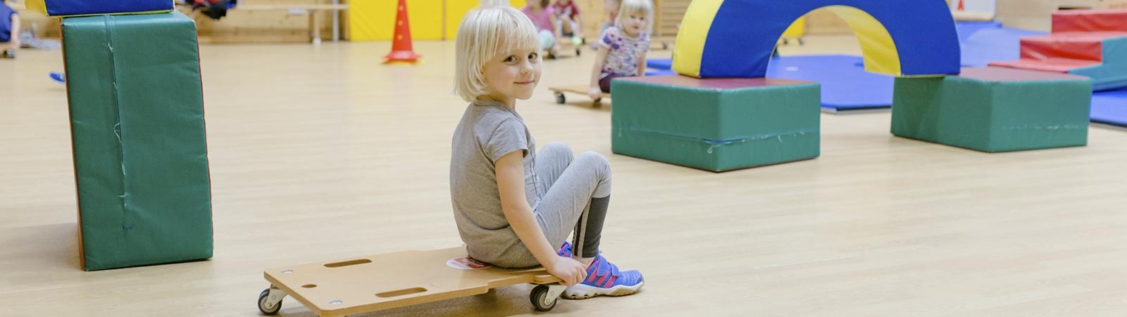 Kindergartensport der TSG Weinheim