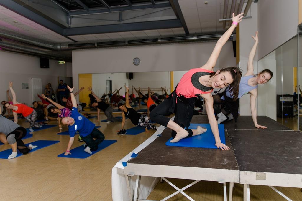 Ballet and Balance mit Stevie und Alex.