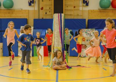 Jedes Feriencamp steht unter einem anderen Tanzthema.
