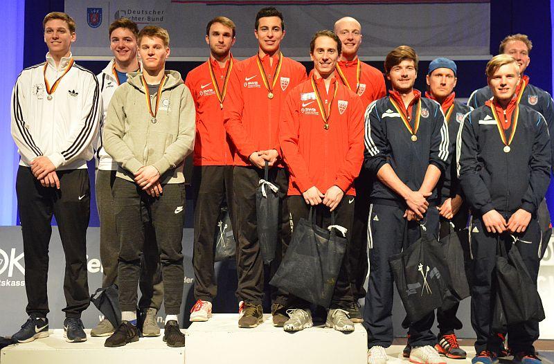 TSG-Florettteam Deutscher Vizemeister