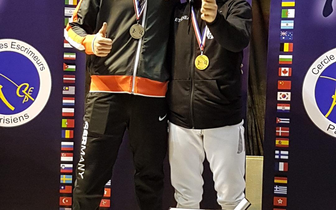 Moritz Renner holt Gold in Paris