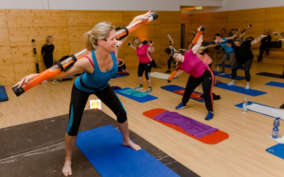 Auspowern bei neuen Fitnesstrends