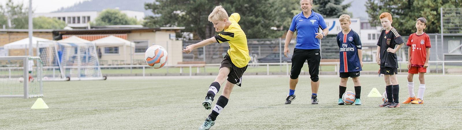 Fußballschule der TSG Weinheim