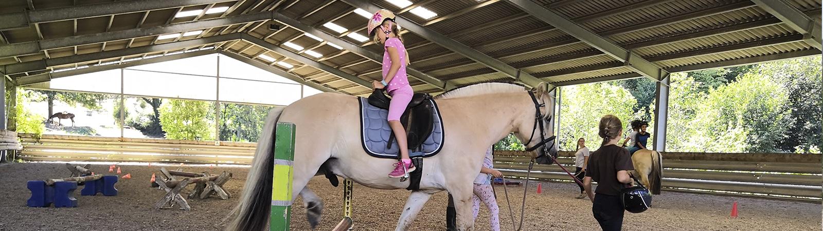 Pferde-Feriencamps der TSG Weinheim