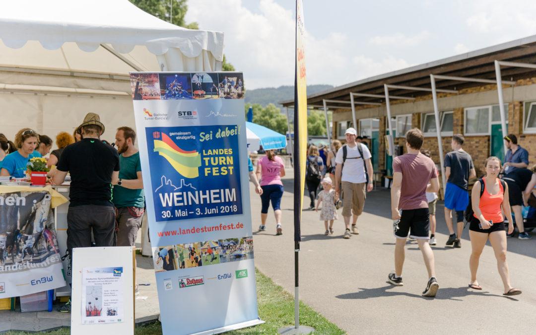 Weinheim stand begeistert Kopf