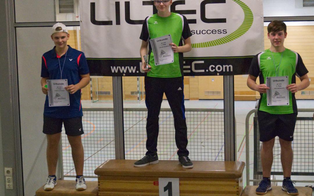 Erfolgreiches Heimturnier für Badmintonjugend