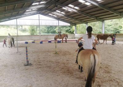 Maximal zehn Kinder können am Pferde-Feriencamp teilnehmen.