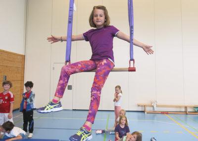 Auch Akrobatik kann einer der Schwerpunkte der Feriencamps sein.