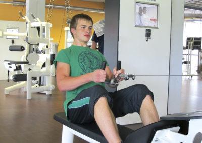 Training im TSG-Fitnesscenter