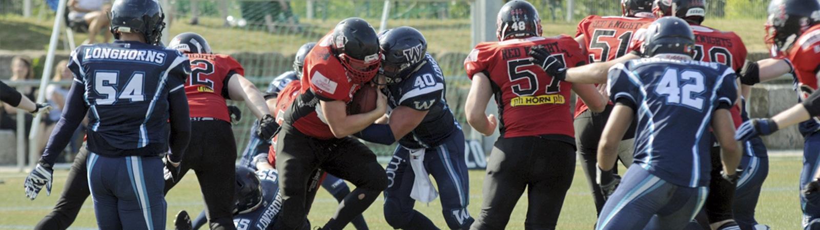 American Football der TSG Weinheim