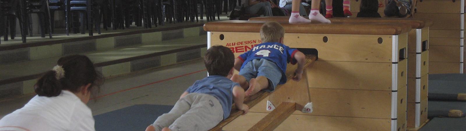 Eltern-Kind-Turnen der TSG Weinheim