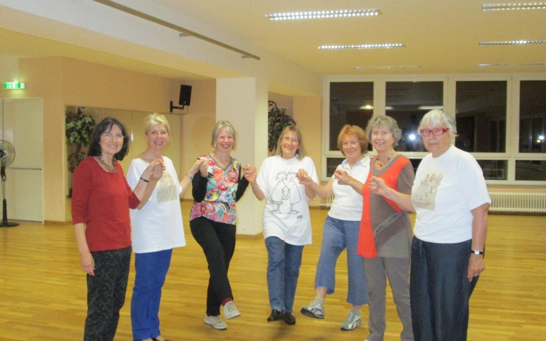 Tanz-Workshop der TSG Weinheim