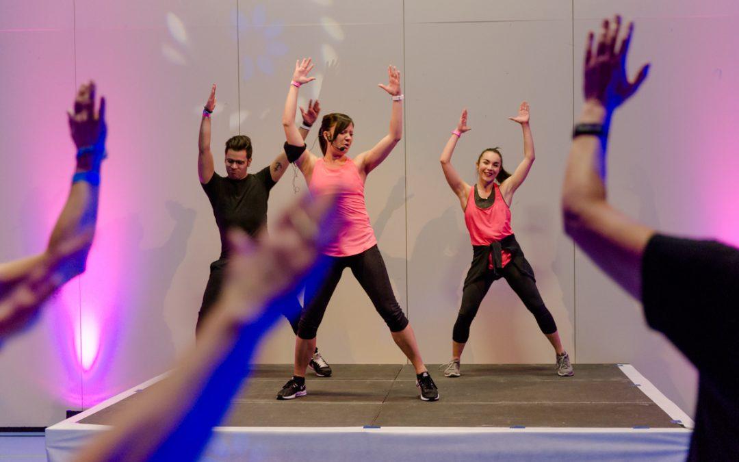 Fitnesstrends testen und Auspowern