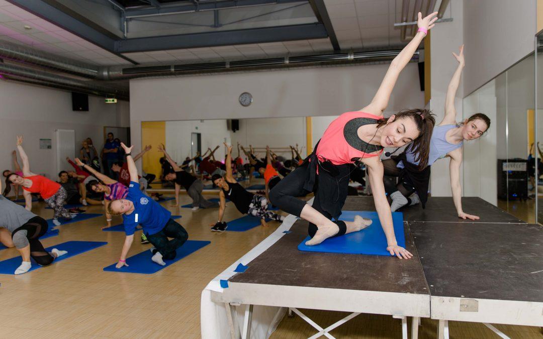 Über 40 Kurse in 7 Räumen erwarten die Teilnehmer.
