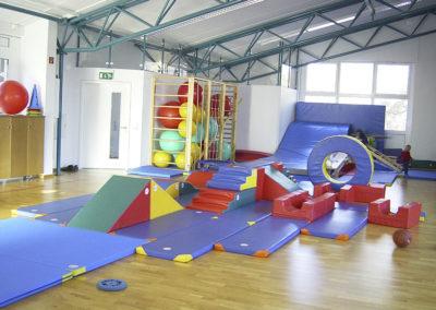 Kindergartensport Bewegungslandschaft