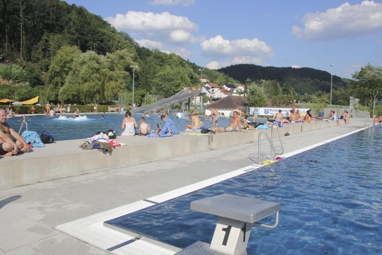 Waldschwimmbad eröffnet ab 10. Juni