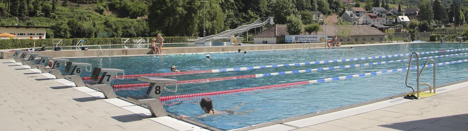 TSG-Waldschwimmbad der TSG Weinheim