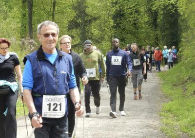 Walking durch den Exotenwald