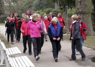Walking-Treff im Schlosspark