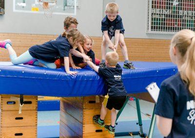 Kindersportschul-Cup - Aufgabe Mattenberg.