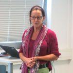 Claudia Wessel war die Fachfrau für das Thema Zecken und gab Infos, was man in Wald und Wiesen beachten sollte.