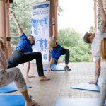 Neben Vorträgen, einer Körperfettanalyse und einem Koordinationstest konnten die Teilnehmer verschiedene Fitnesskurse ausprobieren.