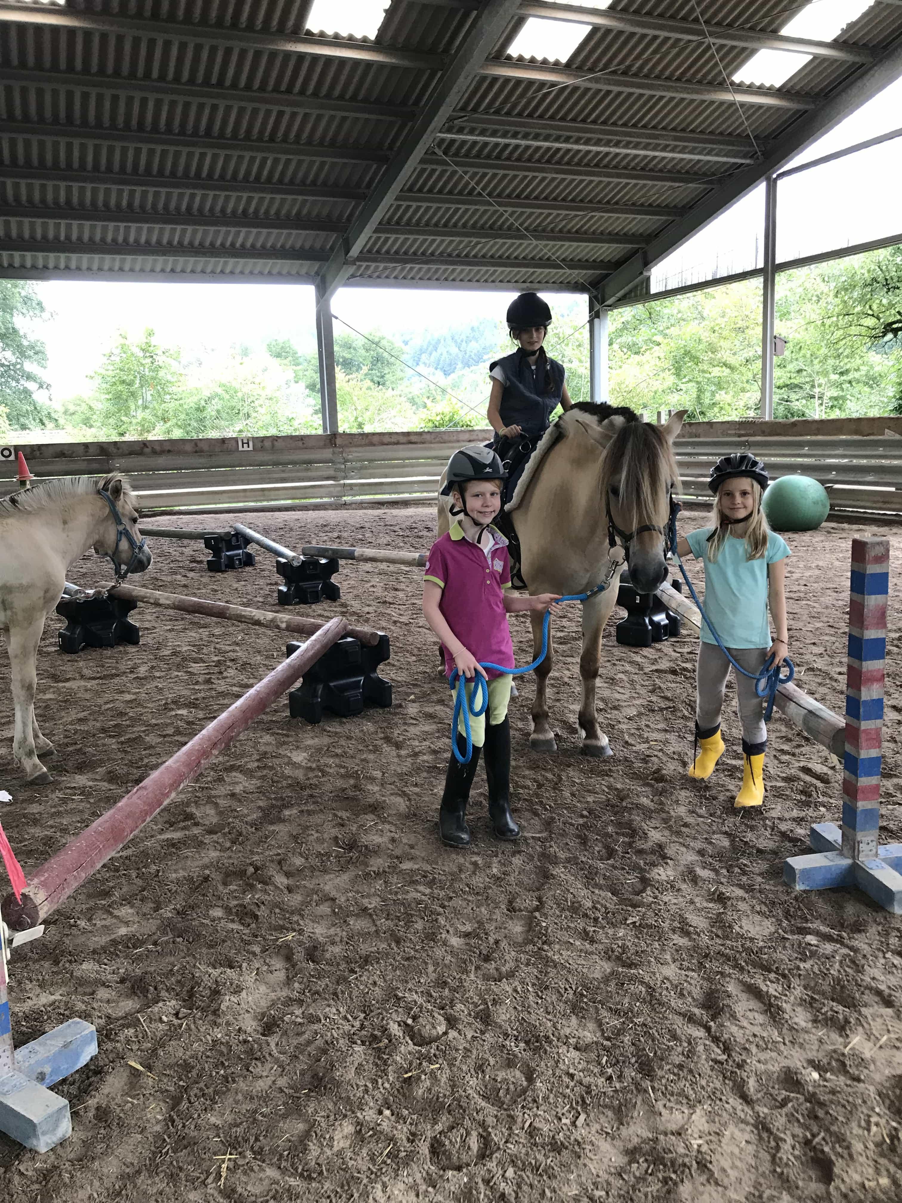 Pferde-Feriencamp