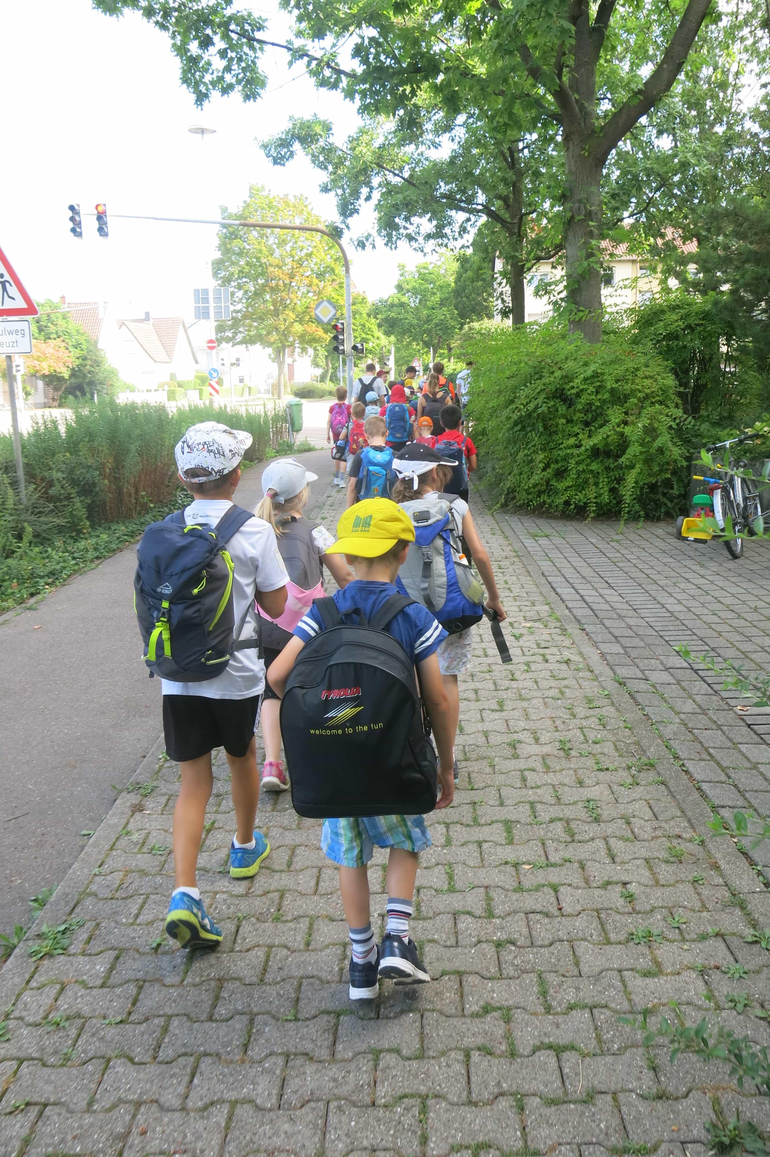 Lauf zum Schlosspark