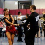 Das Tanzsportwochenende in der TSG Halle war ein voller Erfolg - Acht Finalteilnahmen und ein Sieg für Weinheim.