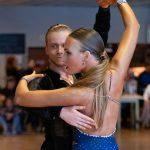 Dennis Popp und Michelle Maric ertanzten den einzigen Sieg für die TSA Weinheim an diesem Tag.