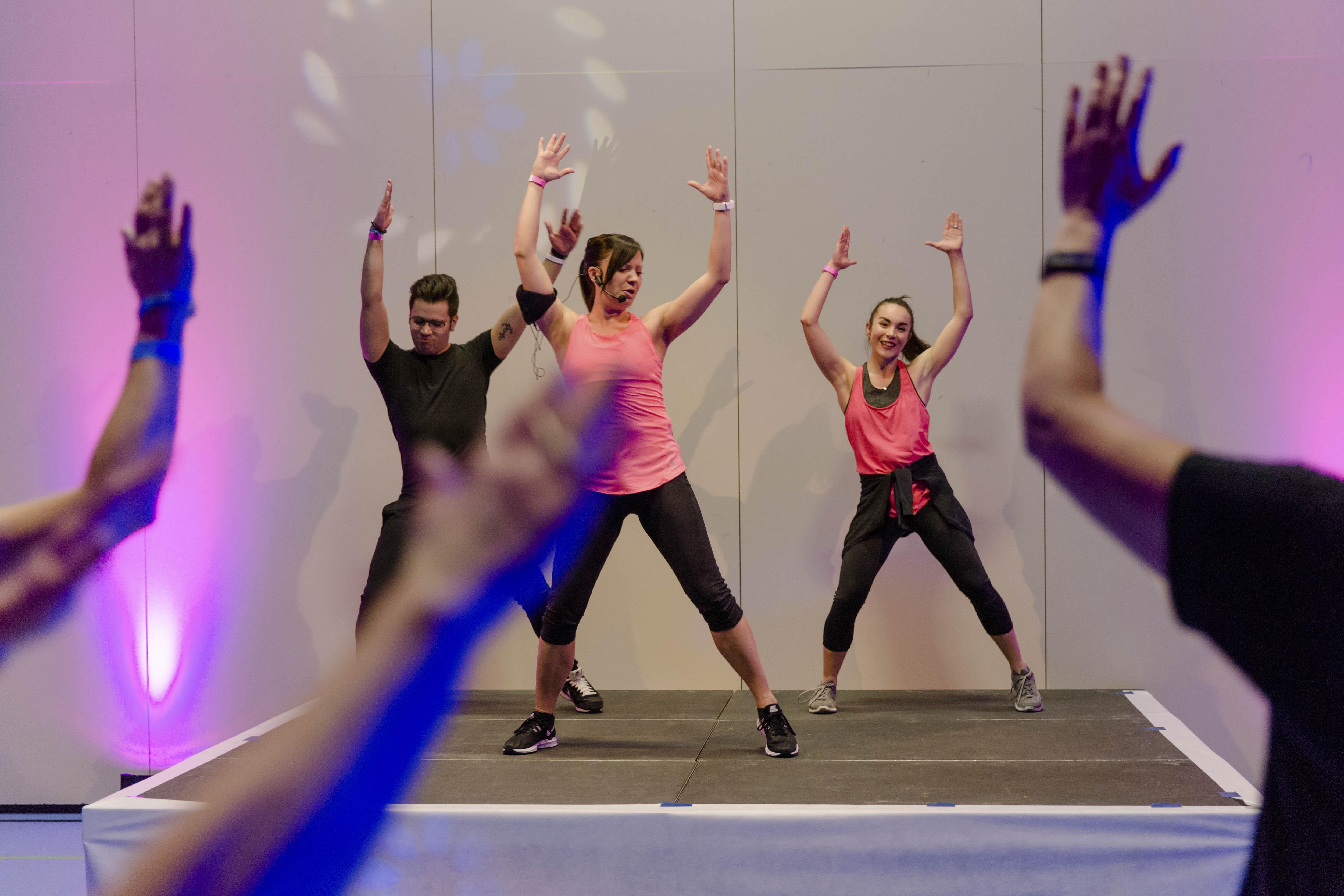 Fitnessnacht - Ankündigung 17. Januar 2020