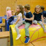 Spaß an der Bewegung steht bei der Kindersportschule ganz weit vorne.