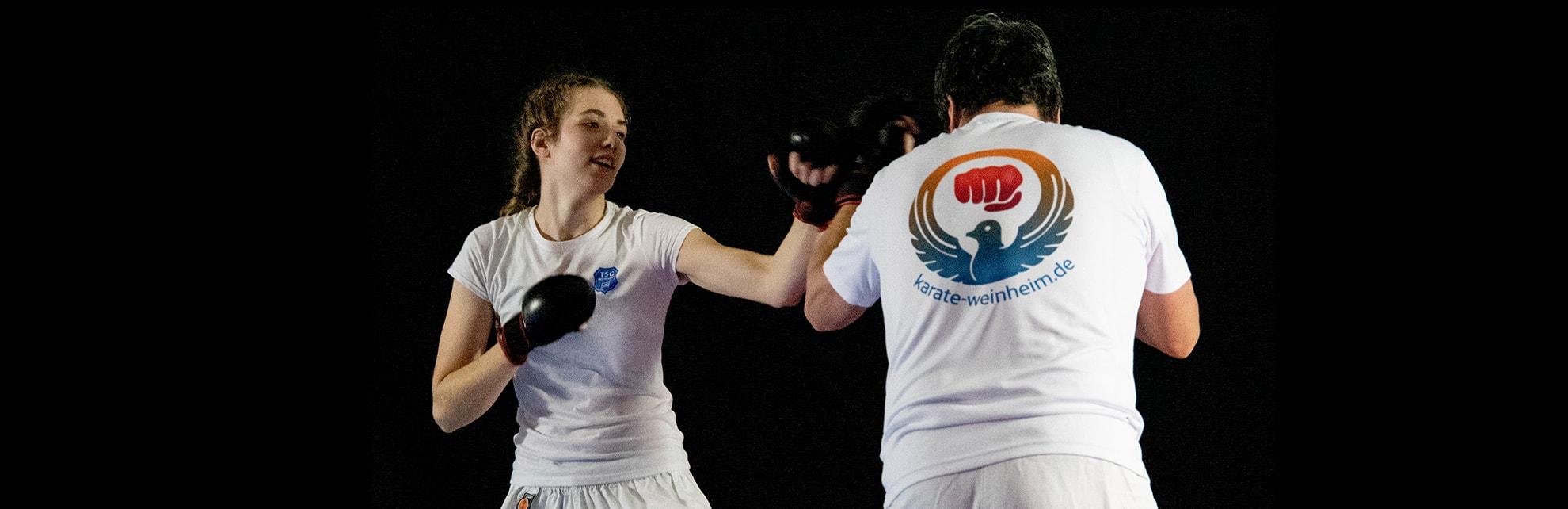 Karate der TSG Weinheim