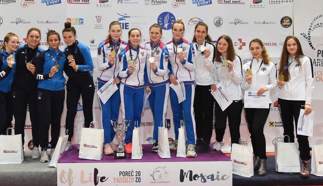 Top Platzierungen und Bronze bei der Kadetten & Junioren EM