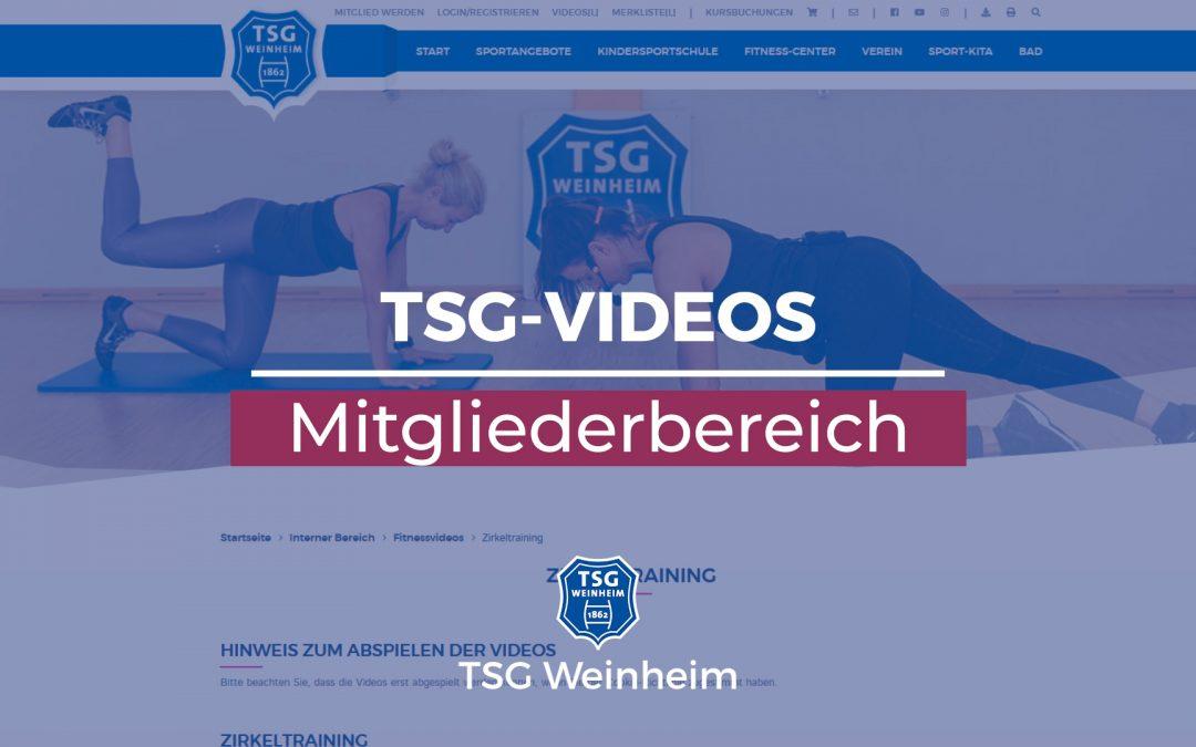 TSG-Mitgliederbereich: Wie funktioniert das eigentlich?