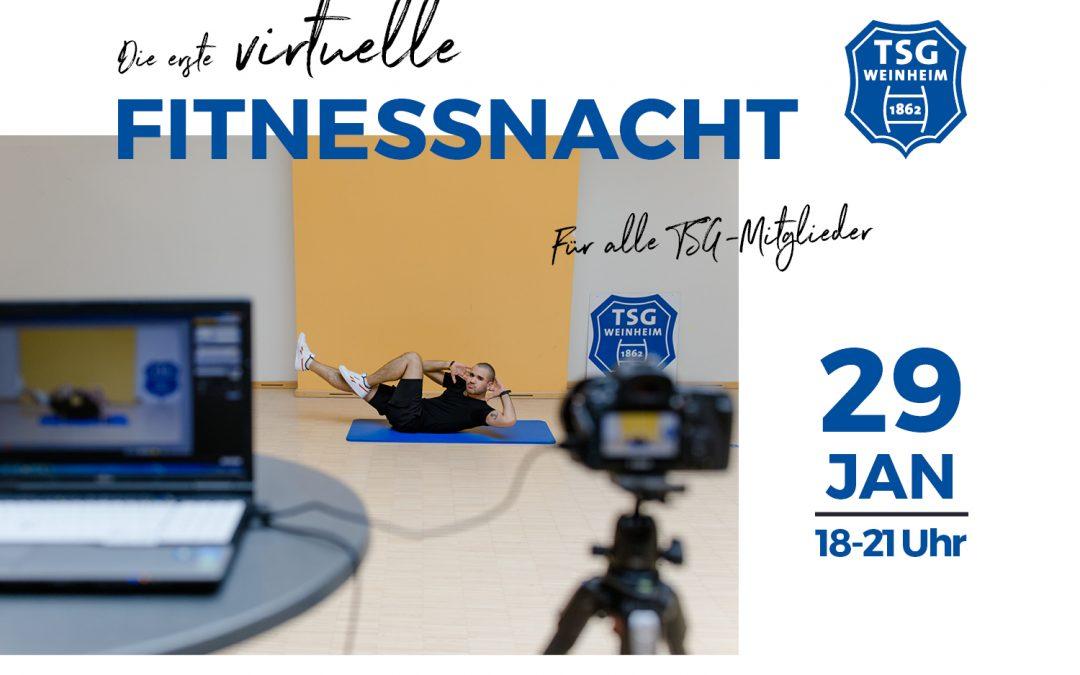 Die erste virtuelle Fitnessnacht